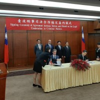Taiwan and Poland sign judicial agreement