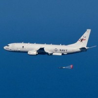 US P-8A sub-hunting jet flies over Taiwan Strait to watch Chinese carrier