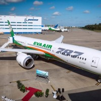 As union strikes, Taiwan's EVA Air receives first Boeing 787-10 Dreamliner