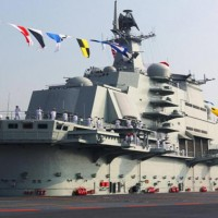 China aircraft carrier Liaoning heads north through Taiwan Strait