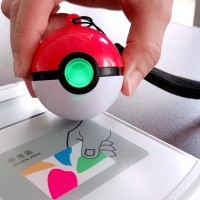 Poké Ball EasCard. (EasyCard Corp. photo)