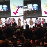 Video shows Chinese delegate rudely cover up badge with Taiwan flag at ICN event