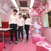 Taiwan Railways launches Hello Kitty tourist train