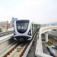 Taichung MRT Green Line nears completion, test runs start