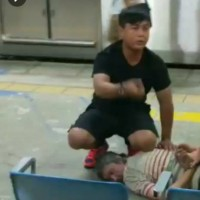 Brave Taiwanese 8th Army soldier, Paiwan warrior helps subdue knife attacker on train