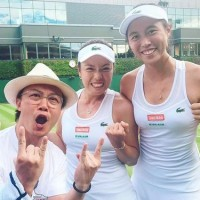 Taiwan's Chans, Hsiehs both triumph at Wimbledon