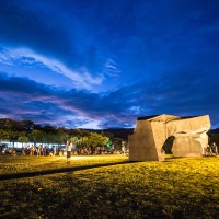 Museum of Taiwan sculptor Ju Ming marks 20th anniversary with night show