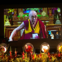 Dalai Lama celebrates 84th birthday with talk to Taiwanese group
