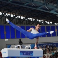 Taiwan's Lee Chih-kai defends pommel horse title at Italy Universiade