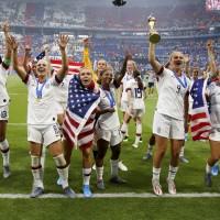 女足世界盃冠軍戰   美國2比0擊敗荷蘭達成2連霸
