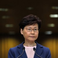 Carrie Lam says Hong Kong extradition bill is 'dead'