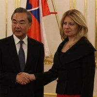 Slovakia president calls out human rights abuses in meeting with China's foreign minister