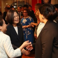 Taiwan president meets in NY with permanent reps of allies to UN for first time ever