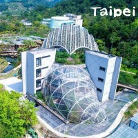 New landmark opens at Taipei Zoo – the Pangolin Dome