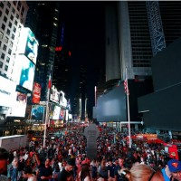 紐約曼哈頓週六晚大停電波及4萬人 與42年前大停電竟同一天