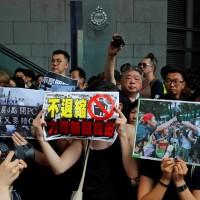 【更新】香港「反送中」今11.5萬人示威 7傳媒工會發起「停止警暴」遊行