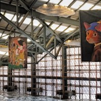 Cat art exhibition at Taipei Expo Park offering hot deals