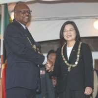 St Kitts and Nevis honors Taiwan president with medal to celebrate diplomatic ties