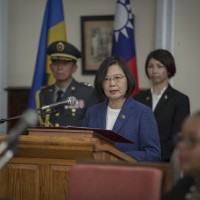 Taiwan president addresses St. Vincent parliament