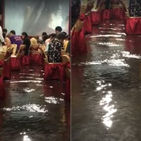 'Flowing water feast': Tropical Storm Danas floods Tainan banquet