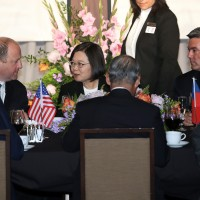 Taiwan President Tsai supports Hong Kong activists in meeting with Colorado leaders