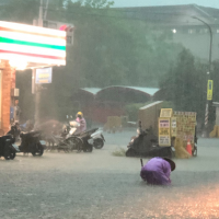 Heavy rain in Kaohsiung, July 19