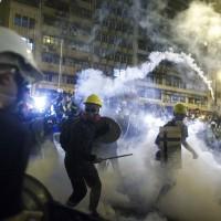 香港721暴力 美國國務院和英國政府發聲譴責