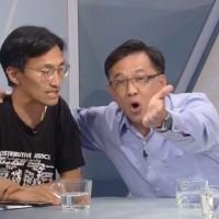 Video shows pro-China lawmaker Junius Ho call activist 'scum,' storm off set