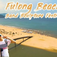 Swedish YouTuber shoots video of Taiwan's Fulong Sand Sculpture Festival