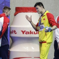 Chinese swimmer lashes out at British competitor amid doping scandal