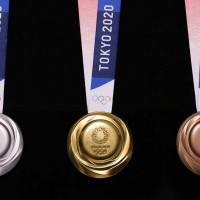 Medals for Tokyo Olympics made from electronic waste