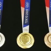 2020東奧獎牌亮相 100%由廢電子產品提煉製成