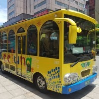 Taiwan's Keelung launches sightseeing bus service for cruise ship passengers