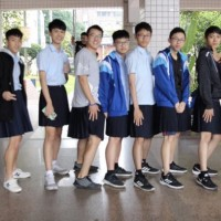 Photo of the Day: Boys in skirts in New Taipei high school