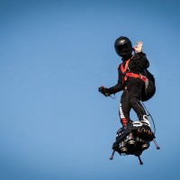 Flyboard inventor fails in attempt to cross English Channel