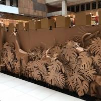 超大「紙迷宮」佔據台北車站 闖關贏家獲超實用好禮