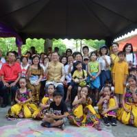 「一日印度」在光復新村 體驗最道地手繪與傳統服飾