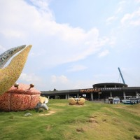 Gaomei Wetland Visitor Center in central Taiwan open to the public