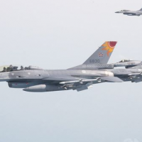 Taiwan Air Force F-16s carry out live-fire test of Harpoon missiles