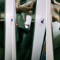 Video shows vicious fight break out after man refuses to pay ticket on Taiwan train