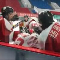 Video shows Chinese hockey players savagely attack Hong Kong athletes