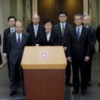 Hong Kong headed for 'path of no return,' warns embattled leader Carrie Lam