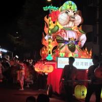 Giant Taiwanese lantern appears in Japan's Aomori Nebuta Matsuri 2019