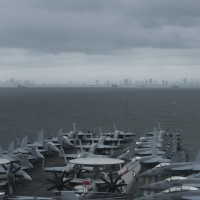 US aircraft carrier arrives in Philippines after S. China Sea transit