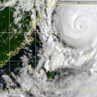1 death, 7 injuries, blackouts reported from Typhoon Lekima in Taiwan