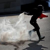 香港前線記者吸入催淚氣體 逾95 %咳血 嚴重者胃腸穿孔