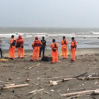 Dead body, head wrapped in school uniform, found floating off coast of Miaoli, Taiwan