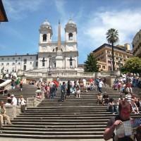 西班牙階梯(圖/Pixabay)