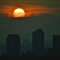 Last chance for 'Manhattanhenge' sunset in Taipei this year