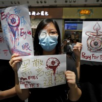 China media calls for shooting HK protesters on spot, Wang asks 'Do Taiwanese want to be unified?'